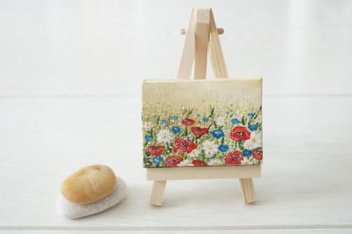 Poppies, chamomiles and cornflowers