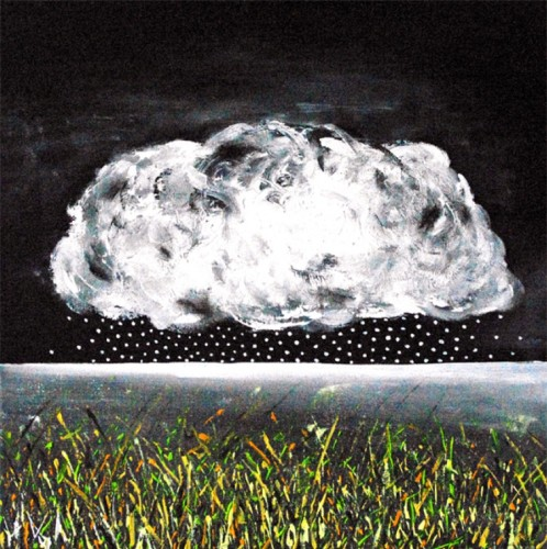 The large cloud - a small rain